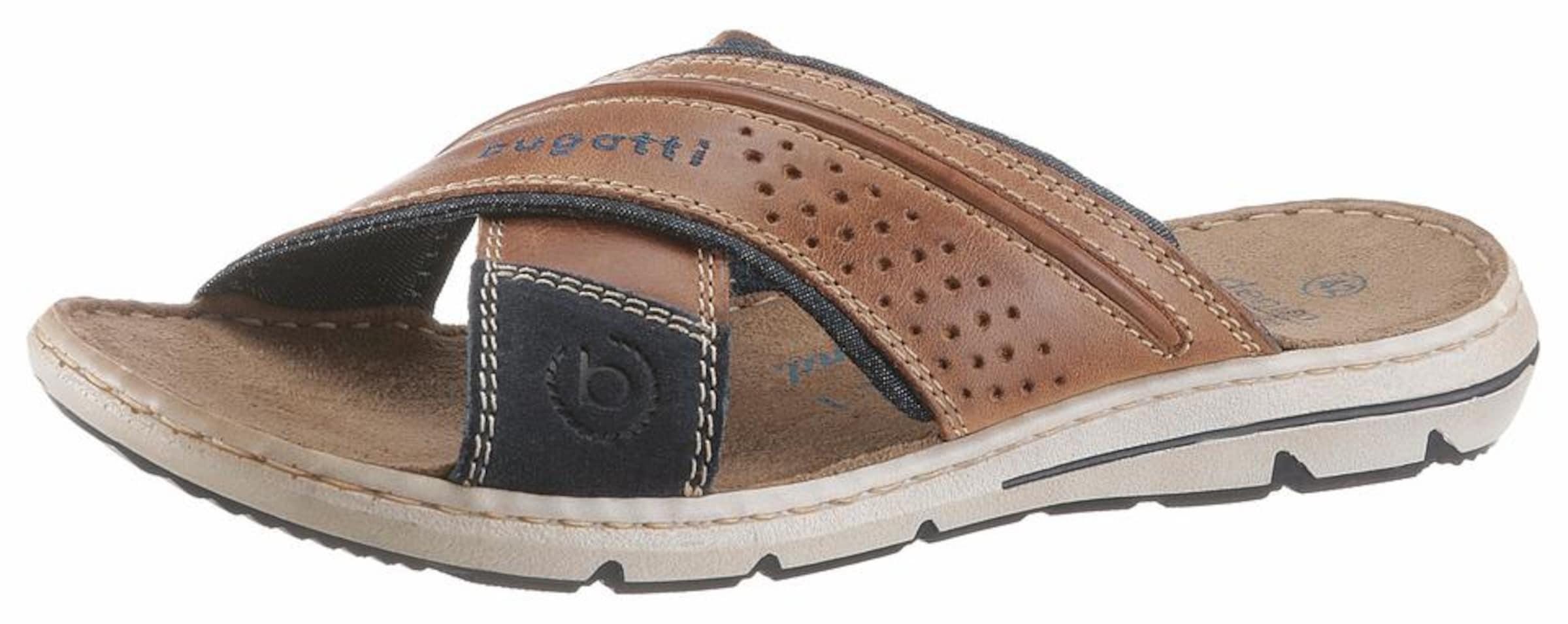 bugatti Pantolette Verschleißfeste billige Schuhe Hohe Qualität