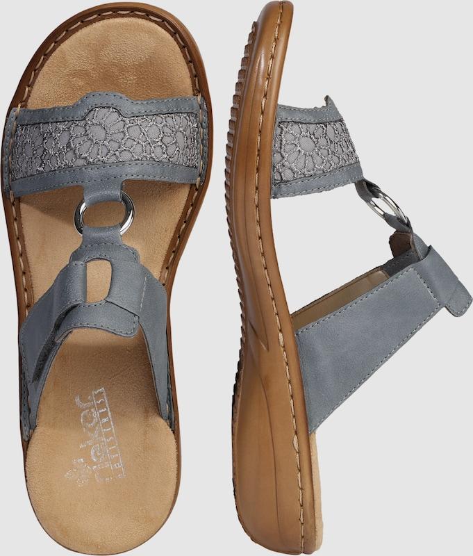 RIEKER Slipper  Sandale steg