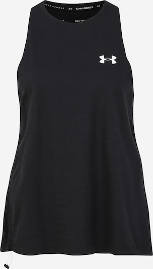 UNDER ARMOUR Sporttop in schwarz / weiß, Produktansicht