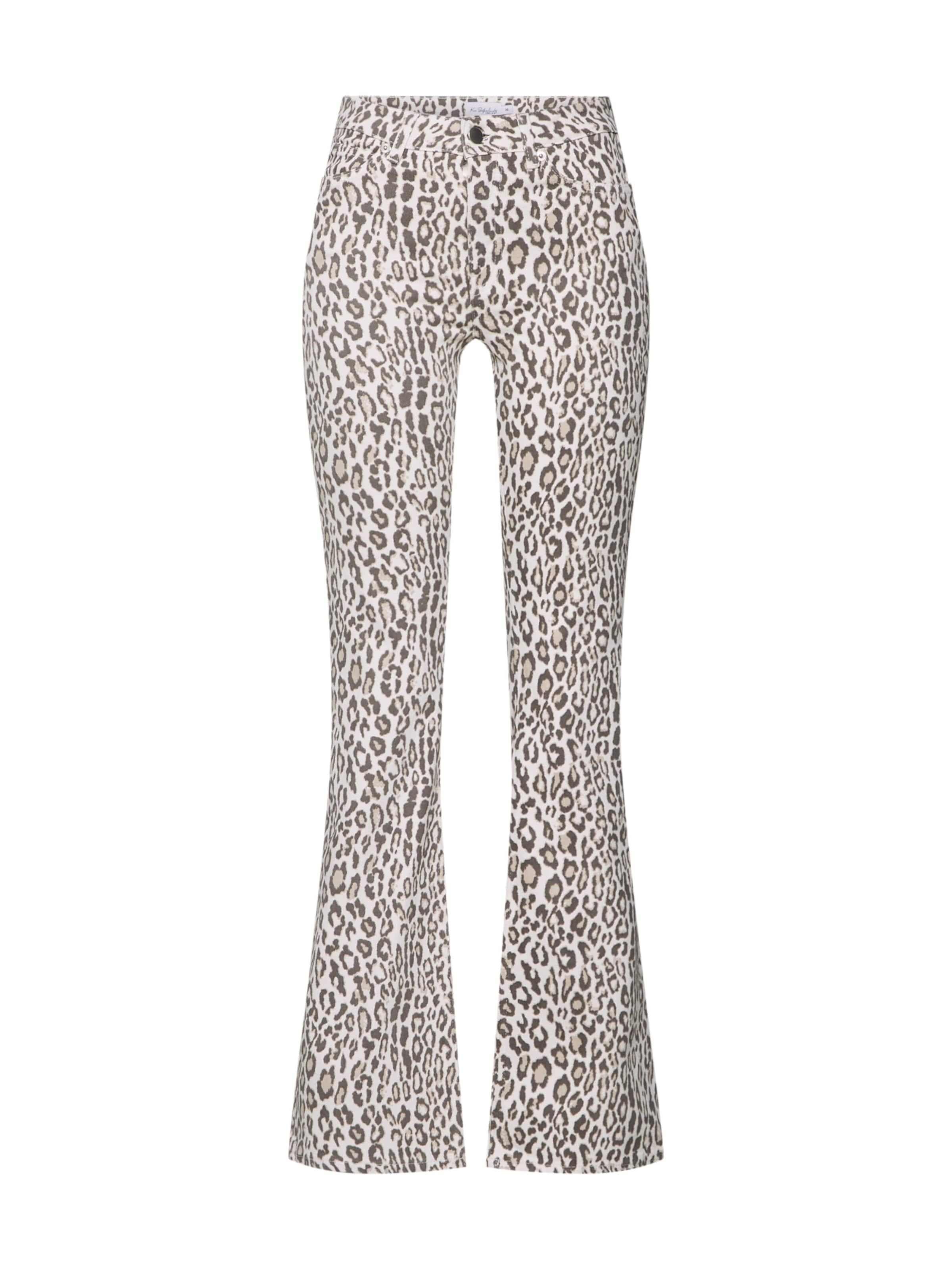 Na In Jeans kd 'leopard' BraunWeiß 9HEID2