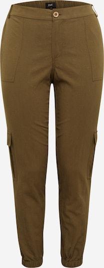 Pantaloni cu buzunare Zizzi pe oliv, Vizualizare produs