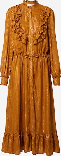 Fabienne Chapot Robe-chemise 'Fia Cato' en moutarde, Vue avec produit