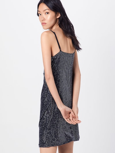 ABOUT YOU Kleid 'Laurentia' in silber: Rückansicht