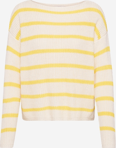 ONLY Pullover 'MARINA' in beige / gelb, Produktansicht
