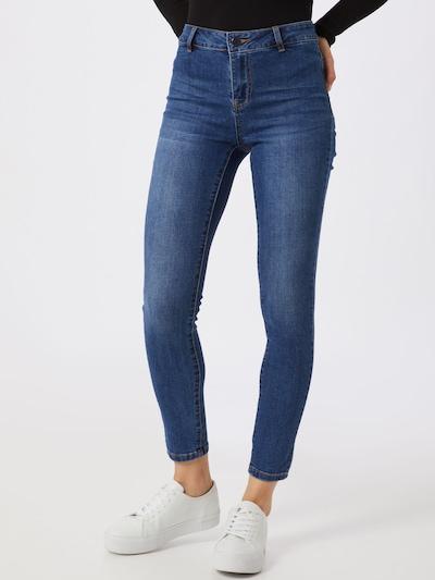 VILA Jeans in de kleur Blauw denim, Modelweergave