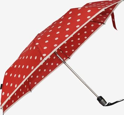 KNIRPS Regenschirm in rot / weiß, Produktansicht