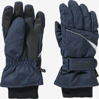 PLAYSHOES Handschuhe in dunkelblau / schwarz, Produktansicht