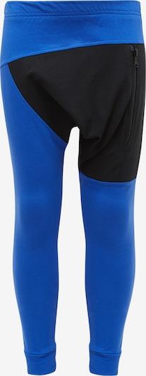 MO Hose in blau / schwarz, Produktansicht
