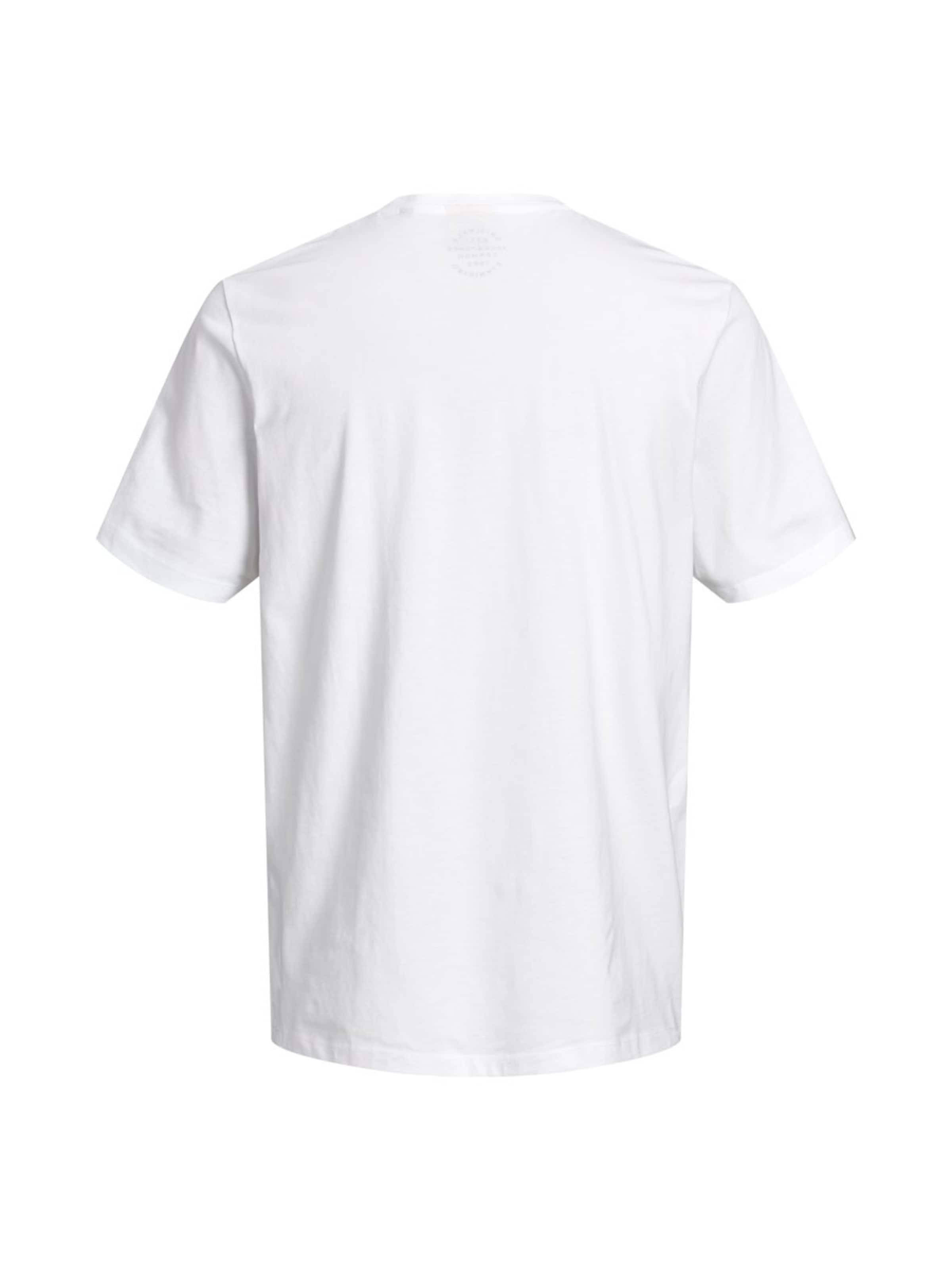 In Jones T Jackamp; GelbSchwarz shirt Weiß Yf7gby6