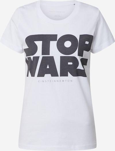 Maglietta 'Stop Wars' EINSTEIN & NEWTON di colore nero / bianco, Visualizzazione prodotti