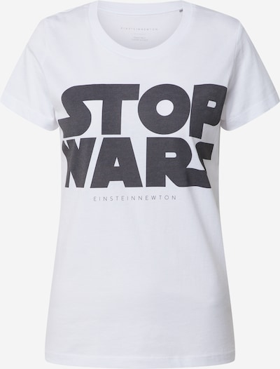 EINSTEIN & NEWTON T-shirt 'Stop Wars' en noir / blanc, Vue avec produit