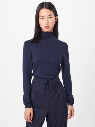 ICHI Pullover 'MAFA' in nachtblau, Modelansicht