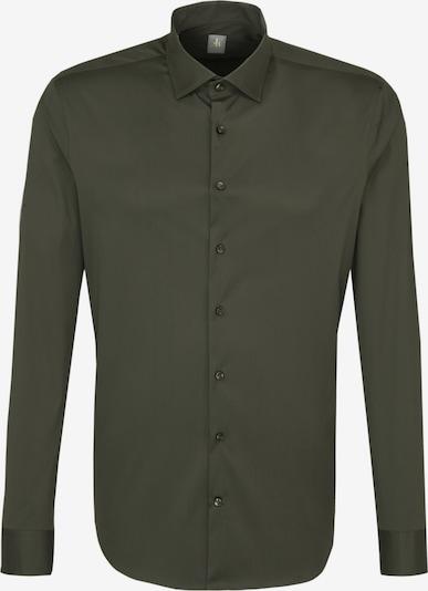 Jacques Britt Hemd in dunkelgrün, Produktansicht