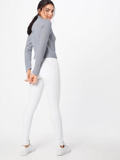 ONLY Jeans 'Coral' in white denim: Rückansicht