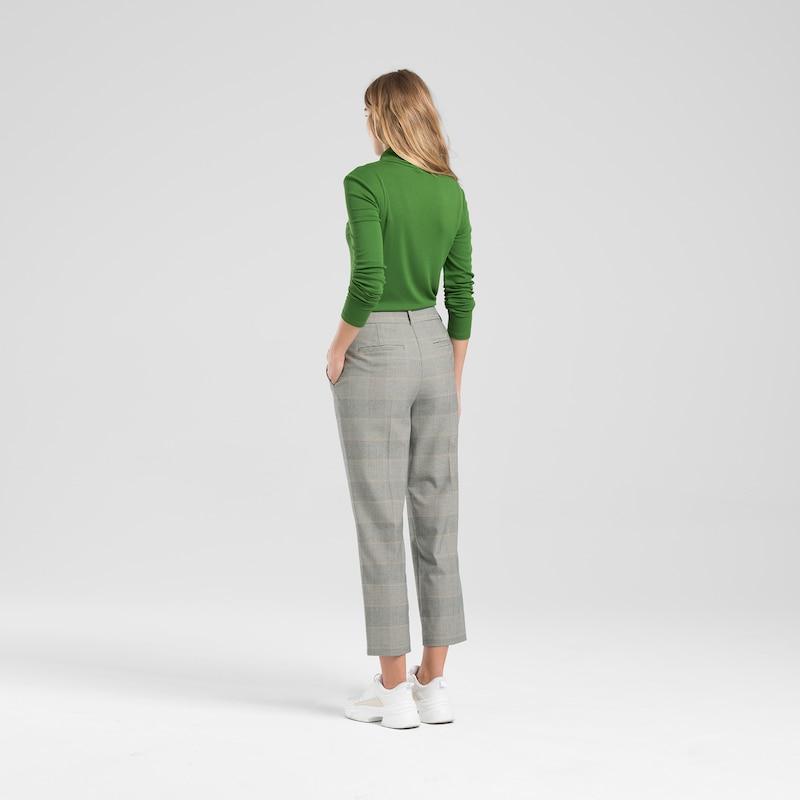 ONE MORE STORY Karohose in braun     schoko   weiß  Mode neue Kleidung b9f8df