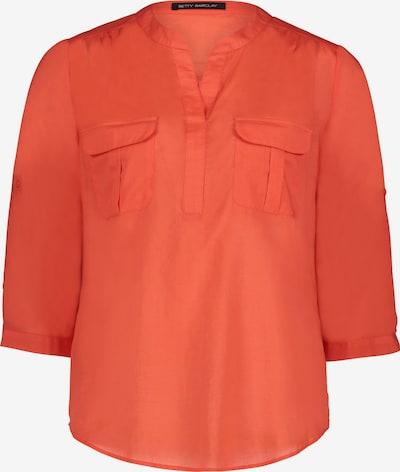 Betty Barclay Schlupfbluse unifarben in orange, Produktansicht
