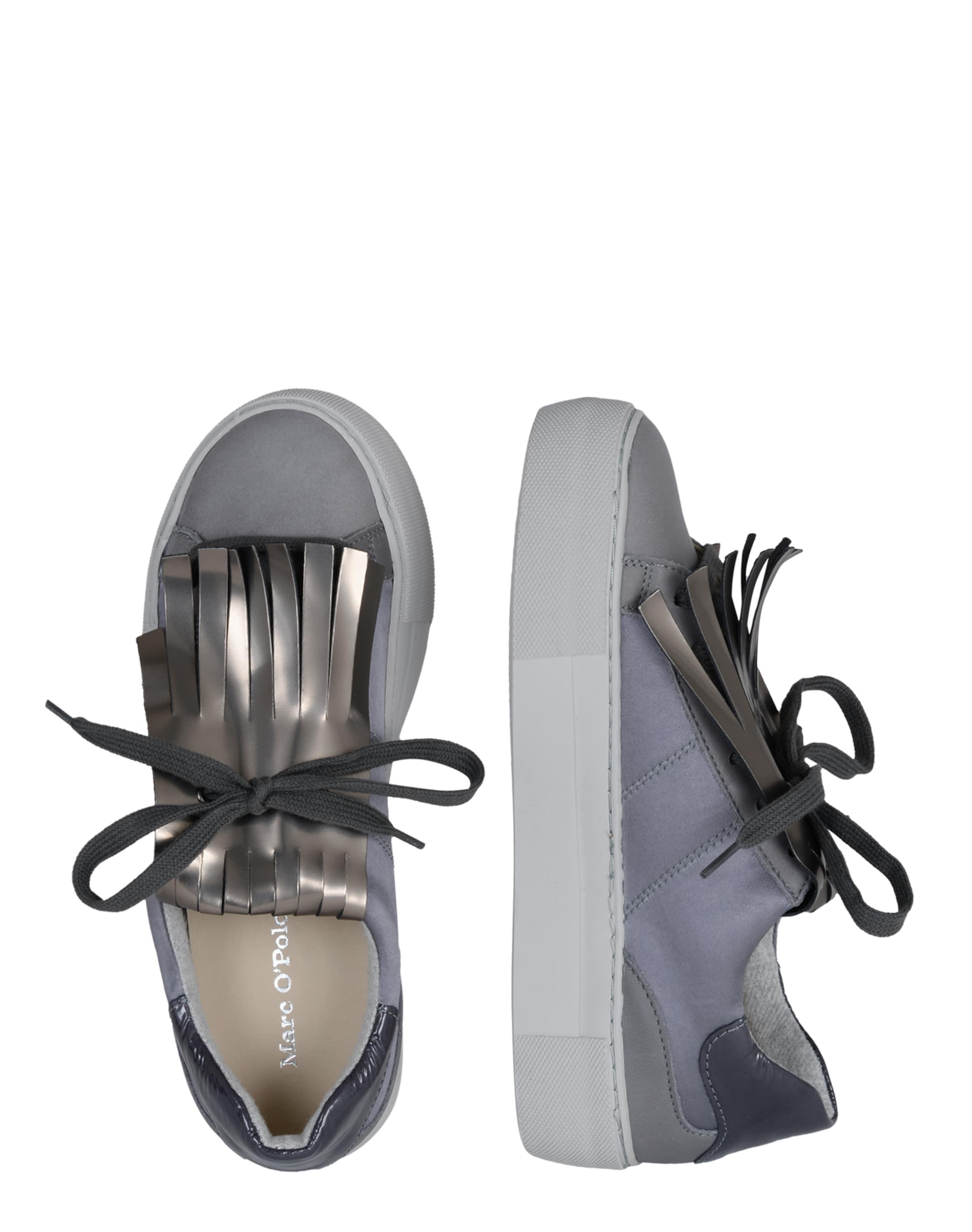 Niedriger Preis Günstig Online Marc O'Polo Sneaker mit Fransen Billig Verkaufen Die Billigsten Eastbay Online Billigsten TI1H87cy1