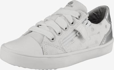 GEOX Sneakers Low 'Gisli Girl' in silber / weiß, Produktansicht