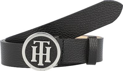 TOMMY HILFIGER Gürtel 'ROUND BUCKLE 3.0' in schwarz, Produktansicht