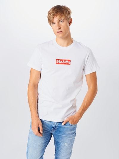 Iriedaily T-Shirt 'It Matters' in rot / weiß: Frontalansicht