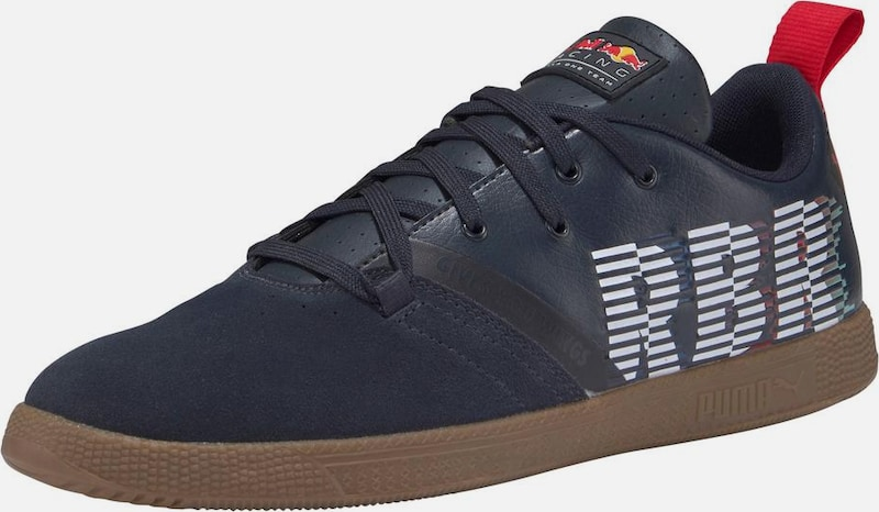 PUMA Turnschuhe 'rot Bull Racing Cups Lo Leder Bequem, gut aussehend