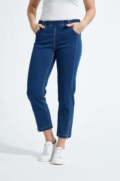 LauRie 7/8-Jeans 'Piper' im modernen Schnitt in blue denim, Modelansicht