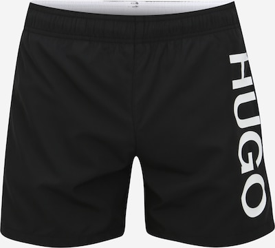 HUGO Swimming shorts 'Abas' in red / black / white, Item view