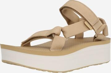 TEVA Sandale in Beige