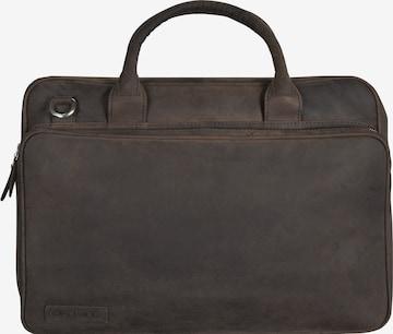 Plevier Aktentasche in Braun