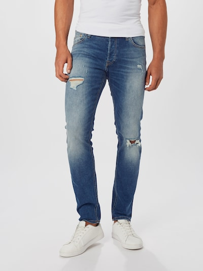 JACK & JONES Jeans in blue denim: Frontalansicht