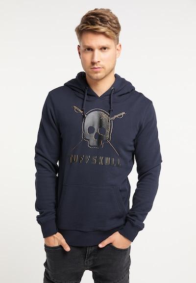 TUFFSKULL Sweatshirt in marine: Frontalansicht