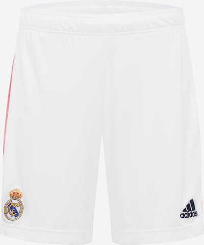 ADIDAS PERFORMANCE Sportshorts 'REAL MADRID' in rosé / weiß, Produktansicht