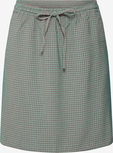re.draft Rok 'Jaquard Skirt' in de kleur Groen / Rood / Zwart, Productweergave