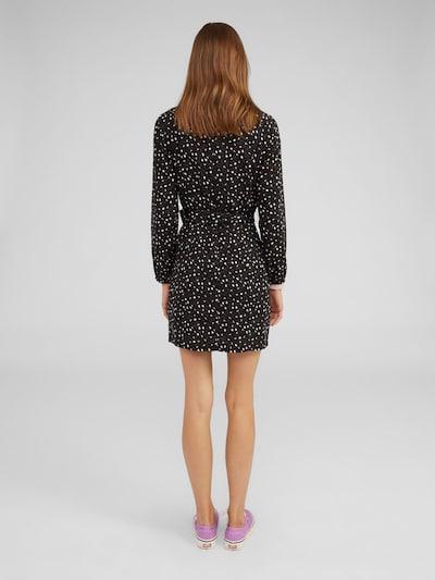 Suknelė 'Halima' iš EDITED , spalva - juoda / balta: Vaizdas iš galinės pusės