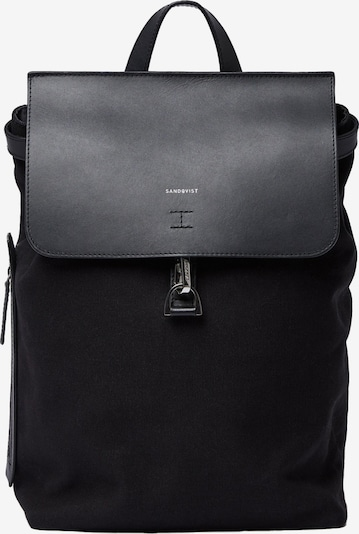 SANDQVIST Backpack 'ALVA' in Black, Item view