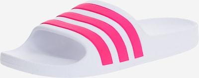 ADIDAS PERFORMANCE Claquettes / Tongs 'ADILETTE AQUA' en rose / blanc, Vue avec produit