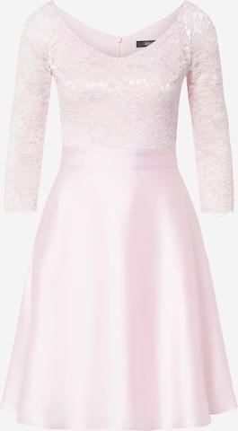 SWING Sukienka koktajlowa w kolorze różowy