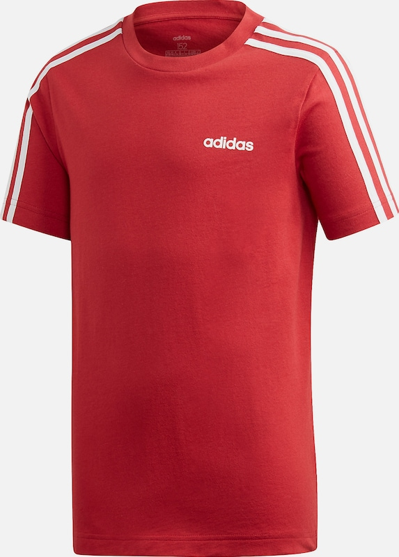 ADIDAS PERFORMANCE T-Shirt 'YB E 3S' in rot, Produktansicht