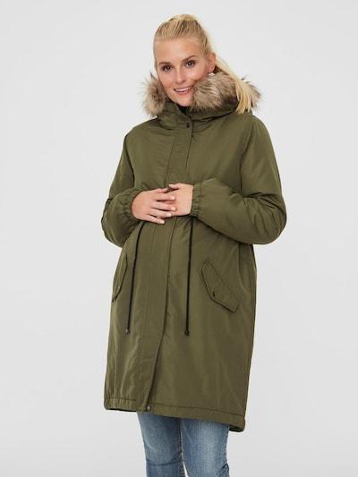 MAMALICIOUS Mantel in oliv, Modelansicht
