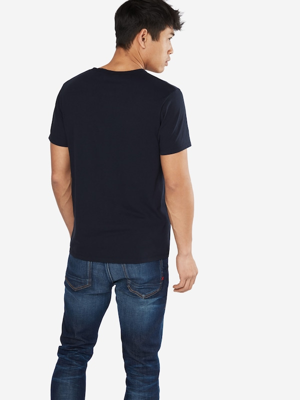 SCOTCH & SODA T-Shirt 'Ams Blauw tee with artwork'