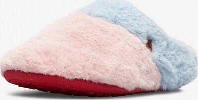 CAMPER Pantoufle 'Twins' en bleu clair / rosé, Vue avec produit