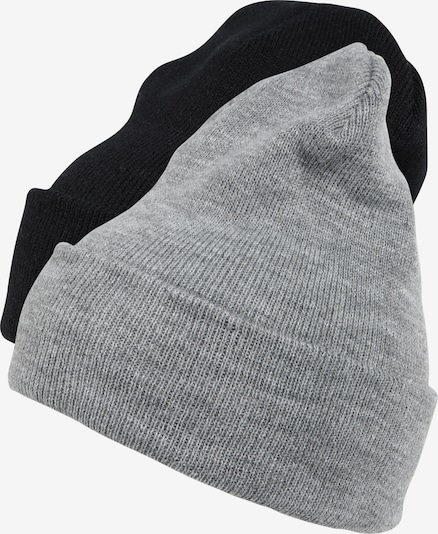 Flexfit Mütze 'Pre-Pack Heavyweight Long Beanie' in grau / schwarz, Produktansicht