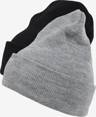 Flexfit Mütze 'Pre-Pack Heavyweight Long Beanie' in grau / schwarz, Produktansicht