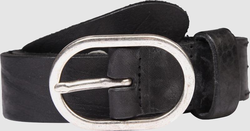 LEGEND Ledergürtel 'Ovale Schließe'