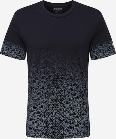 GUESS Shirt in schwarz / weiß, Produktansicht
