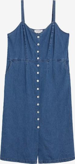 VIOLETA by Mango Kleid in blue denim, Produktansicht