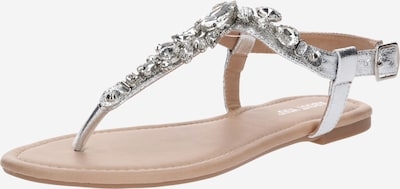 ABOUT YOU T-bar sandals 'Zazou' in Silver, Item view