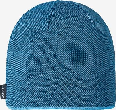 STÖHR Mütze 'PINTO' in blau, Produktansicht