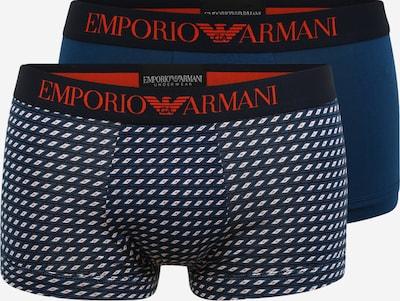 Emporio Armani Boxershorts in blau / rot / schwarz / weiß, Produktansicht