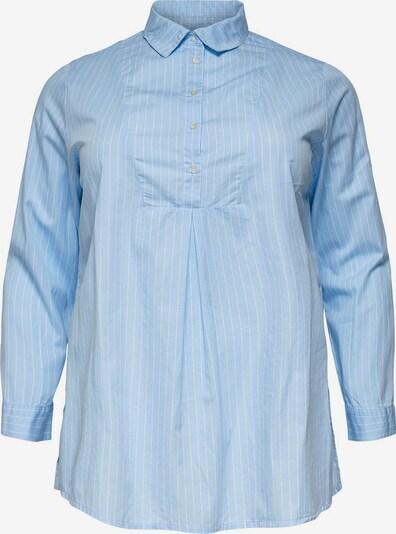 ONLY Carmakoma Bluse 'carARLANDA' in hellblau / weiß, Produktansicht